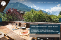 Welcome screen for Chalet Cerisier
