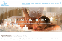 Modernisation du site Alpine Massage