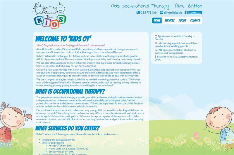 kids ot kids ot home page